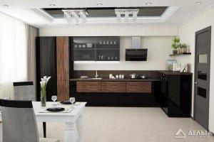 Кухонный гарнитур Барселона Инфинити  - Мебельная фабрика «Дельта плюс», г. Ульяновск