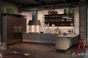 Кухонный гарнитур Degno Classic Loft - Мебельная фабрика «Дельта Кухни»