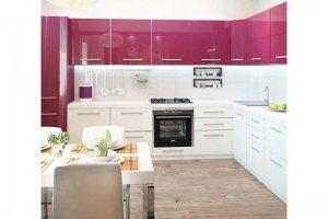 Кухонный гарнитур Гамма, фасады пластик - Мебельная фабрика «КамиАл»