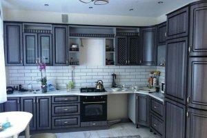 Кухонный гарнитур угловой Гранд - Мебельная фабрика «Рестайл»