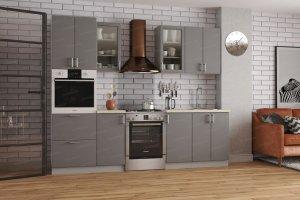 Кухонный гарнитур Хайтек МДФ - Мебельная фабрика «Террикон»