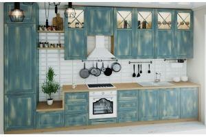 Кухонный гарнитур из массива Болоня - Мебельная фабрика «ПластДекор»