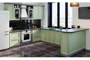Кухонный гарнитур из массива Милацо - Мебельная фабрика «ПластДекор»