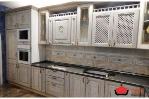 Кухонный гарнитур из массива ясеня/патина - Мебельная фабрика «СТАРТ»