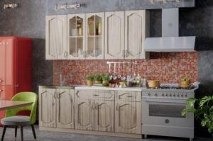 кухонный гарнитур Капучино с фасадами МДФ - Мебельная фабрика «Северин»