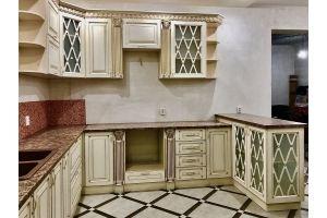 Кухонный гарнитур в патине Карина 1 - Мебельная фабрика «СК»