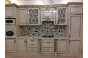 Кухонный гарнитур в патине Карина - Мебельная фабрика «СК»