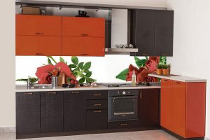 Кухонный гарнитур Лимба  - Мебельная фабрика «Славные кухни (ИП Ларин В.Н.)»