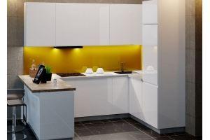 Кухонный гарнитур Мадрид эмаль - Мебельная фабрика «ПластДекор»