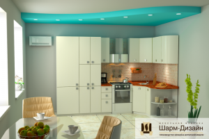 Кухонный гарнитур Марис - Мебельная фабрика «Шарм-Дизайн»