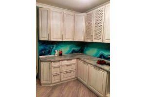 Кухонный гарнитур массив Ангелина - Мебельная фабрика «Люкс-С»