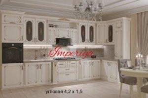 Кухонный гарнитур МДФ с патиной - Мебельная фабрика «Империя»