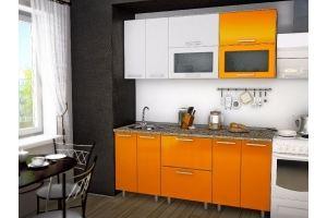 Кухонный гарнитур МДФ Оранж - Мебельная фабрика «Евромебель»