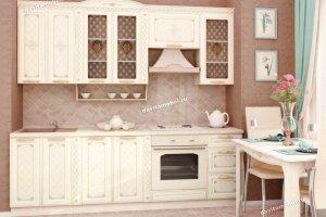 Кухонный гарнитур Милана 19 прямой - Мебельная фабрика «Витра»