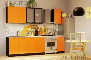 Кухонный гарнитур недорого Оранж ЛДСП - Мебельная фабрика «Антей»