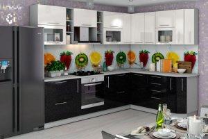 Кухонный гарнитур Нота  - Мебельная фабрика «Славные кухни (ИП Ларин В.Н.)»