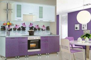 Кухонный гарнитур Орхидея  - Мебельная фабрика «Славные кухни (ИП Ларин В.Н.)»