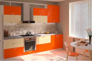 Кухонный гарнитур Пластик - Мебельная фабрика «Шарм-Дизайн»