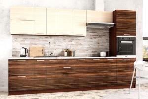 Кухня пластик Мелатон - Мебельная фабрика «Лев Мебель»