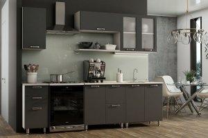 Кухонный гарнитур пластик Мелатон - Мебельная фабрика «Лев Мебель»