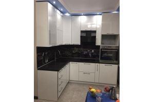 Кухонный гарнитур пластик ТАДЖ цена за метр погонный - Мебельная фабрика «Мебель Миру»