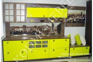 Кухонный гарнитур прямой Токио - Мебельная фабрика «KODMI-мебель»