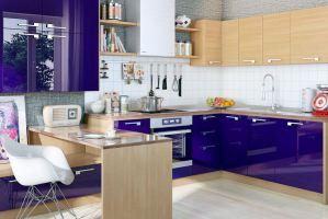 Кухонный гарнитур прямой Джем - Мебельная фабрика «Энли»