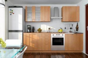 Кухонный гарнитур прямой ЛДСП - Мебельная фабрика «Эко»