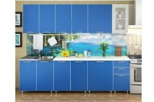 Кухонный гарнитур прямой Радуга 2.6 - Мебельная фабрика «РиИКМ»