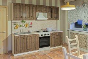 Кухонный гарнитур прямой Сильвия - Мебельная фабрика «MOBI»