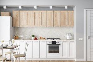 Кухонный гарнитур Ривьера белая - Мебельная фабрика «Ваша мебель»