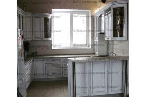 Кухонный гарнитур с барной стойкой - Мебельная фабрика «Древека»