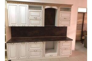Кухня с фасадами МДФ в патине - Мебельная фабрика «GradeMebel»