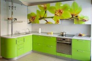 Кухонный гарнитур с фотопечатью - Мебельная фабрика «КамиАл»