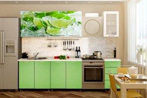 Кухонный гарнитур с фотопечатью Мохито - Мебельная фабрика «Профи»
