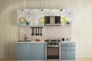 Кухонный гарнитур с фотопечатью Одуванчик - Мебельная фабрика «Профи»