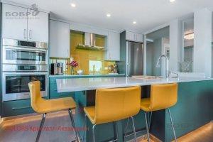 Кухонный гарнитур с островом Colors - Мебельная фабрика «Бобр»