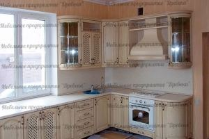 Кухонный гарнитур с патиной - Мебельная фабрика «Древека»
