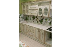 Кухонный гарнитур с патиной Золото - Мебельная фабрика «Мебликон»