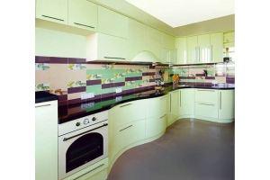 Кухонный гарнитур с радиусными фасадами - Мебельная фабрика «Премьера»