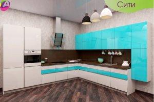 Кухонный гарнитур Сити - Мебельная фабрика «Акварель»