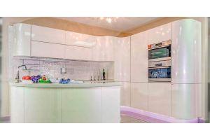 Кухонный гарнитур Светлана радиусные фасады - Мебельная фабрика «Кухни Премьер»