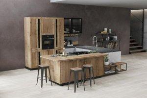 Кухонный гарнитур угловой Autentic - Мебельная фабрика «Cucina»
