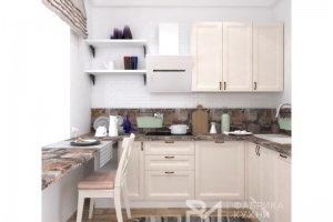 Кухонный гарнитур угловой Оливин - Мебельная фабрика «Ревдамебель»