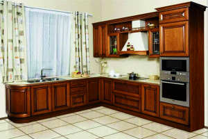 Кухонный гарнитур угловой с фрезеровкой - Мебельная фабрика «Святогор Мебель»