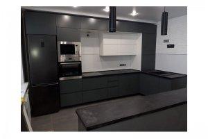 Кухонный гарнитур угловой с островом - Мебельная фабрика «Таита»