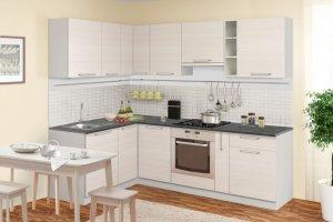 Кухонный гарнитур угловой Сипмл - Мебельная фабрика «Боровичи-Мебель»