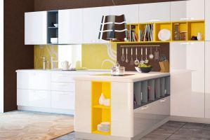 Кухонный гарнитур угловой Сити - Мебельная фабрика «Энли»