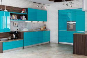 Кухонный гарнитур угловой Техно - Мебельная фабрика «Энли»