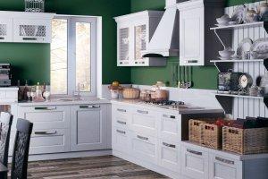 Кухонный гарнитур угловой Тоскана Бьянко - Мебельная фабрика «Энли»
